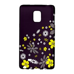 Vintage Retro Floral Flowers Wallpaper Pattern Background Galaxy Note Edge by Simbadda
