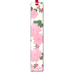 Vintage Floral Wallpaper Background In Shades Of Pink Large Book Marks by Simbadda