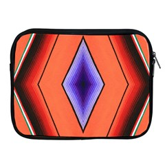 Diamond Shape Lines & Pattern Apple Ipad 2/3/4 Zipper Cases by Simbadda
