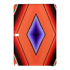 Diamond Shape Lines & Pattern Samsung Galaxy Tab Pro 10 1 Hardshell Case by Simbadda