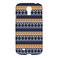 Abstract Elegant Background Pattern Samsung Galaxy S4 I9500/i9505 Hardshell Case by Simbadda