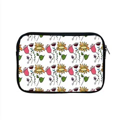 Handmade Pattern With Crazy Flowers Apple Macbook Pro 15  Zipper Case
