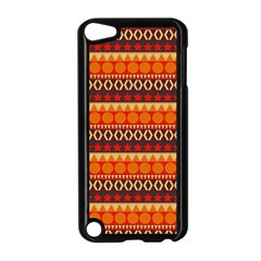 Abstract Lines Seamless Pattern Apple Ipod Touch 5 Case (black) by Simbadda