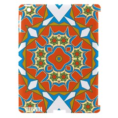 Digital Computer Graphic Geometric Kaleidoscope Apple Ipad 3/4 Hardshell Case (compatible With Smart Cover) by Simbadda