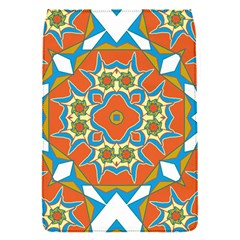 Digital Computer Graphic Geometric Kaleidoscope Flap Covers (s)  by Simbadda