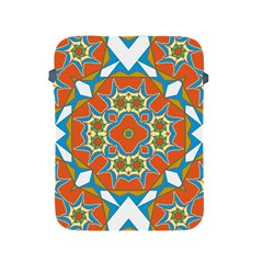 Digital Computer Graphic Geometric Kaleidoscope Apple Ipad 2/3/4 Protective Soft Cases