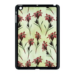 Vintage Style Seamless Floral Wallpaper Pattern Background Apple Ipad Mini Case (black)