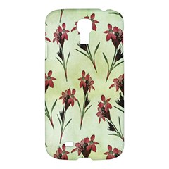 Vintage Style Seamless Floral Wallpaper Pattern Background Samsung Galaxy S4 I9500/i9505 Hardshell Case by Simbadda