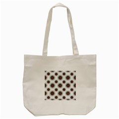 Pearly Pattern Half Tone Background Tote Bag (cream) by Simbadda