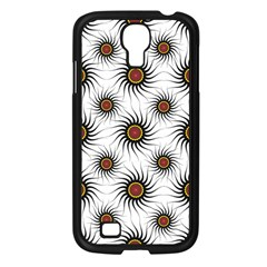 Pearly Pattern Half Tone Background Samsung Galaxy S4 I9500/ I9505 Case (black) by Simbadda