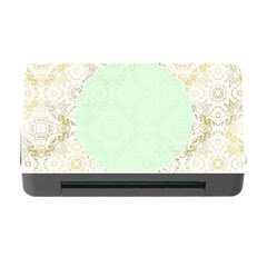 Seamless Abstract Background Pattern Memory Card Reader With Cf by Simbadda