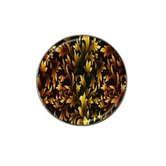 Loral Vintage Pattern Background Hat Clip Ball Marker (4 Pack) by Simbadda