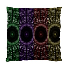 Digital Colored Ornament Computer Graphic Standard Cushion Case (one Side) by Simbadda