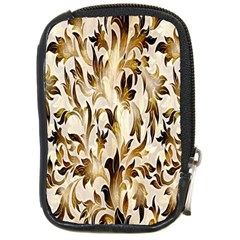 Floral Vintage Pattern Background Compact Camera Cases by Simbadda