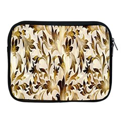 Floral Vintage Pattern Background Apple Ipad 2/3/4 Zipper Cases
