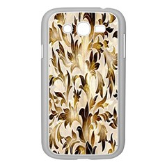 Floral Vintage Pattern Background Samsung Galaxy Grand Duos I9082 Case (white) by Simbadda