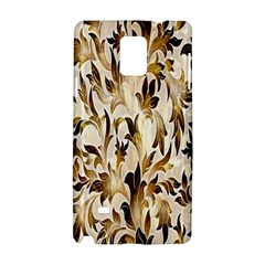 Floral Vintage Pattern Background Samsung Galaxy Note 4 Hardshell Case by Simbadda
