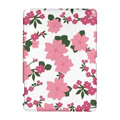 Vintage Floral Wallpaper Background In Shades Of Pink Galaxy Note 1 by Simbadda