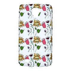 Handmade Pattern With Crazy Flowers Galaxy S4 Active
