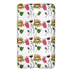 Handmade Pattern With Crazy Flowers Samsung Galaxy Tab 4 (7 ) Hardshell Case