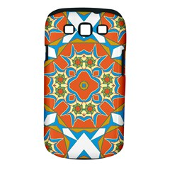 Digital Computer Graphic Geometric Kaleidoscope Samsung Galaxy S Iii Classic Hardshell Case (pc+silicone) by Simbadda
