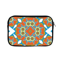 Digital Computer Graphic Geometric Kaleidoscope Apple Ipad Mini Zipper Cases by Simbadda