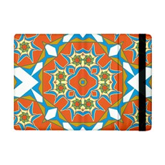 Digital Computer Graphic Geometric Kaleidoscope Ipad Mini 2 Flip Cases by Simbadda