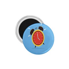 Alarm Clock Weker Time Red Blue 1 75  Magnets by Alisyart