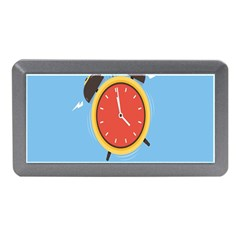 Alarm Clock Weker Time Red Blue Memory Card Reader (mini) by Alisyart