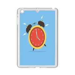 Alarm Clock Weker Time Red Blue Ipad Mini 2 Enamel Coated Cases