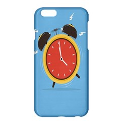 Alarm Clock Weker Time Red Blue Apple Iphone 6 Plus/6s Plus Hardshell Case