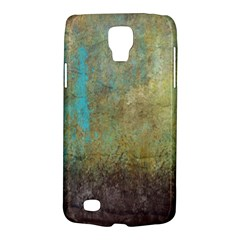 Aqua Textured Abstract Galaxy S4 Active by digitaldivadesigns