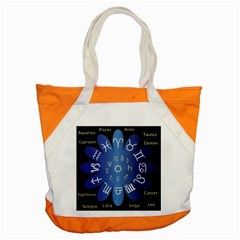 Astrology Birth Signs Chart Accent Tote Bag by Amaryn4rt