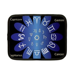 Astrology Birth Signs Chart Netbook Case (small)  by Amaryn4rt