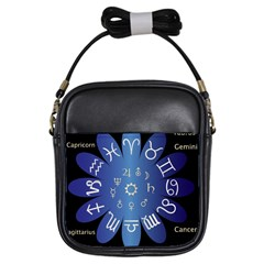 Astrology Birth Signs Chart Girls Sling Bags by Amaryn4rt