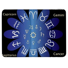 Astrology Birth Signs Chart Samsung Galaxy Tab 7  P1000 Flip Case by Amaryn4rt