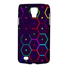 Color Bee Hive Pattern Galaxy S4 Active by Amaryn4rt