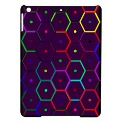 Color Bee Hive Pattern Ipad Air Hardshell Cases by Amaryn4rt