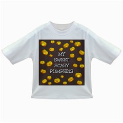 Scary Sweet Funny Cute Pumpkins Hallowen Ecard Infant/toddler T Shirts by Amaryn4rt