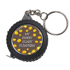 Scary Sweet Funny Cute Pumpkins Hallowen Ecard Measuring Tapes by Amaryn4rt