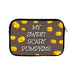 Scary Sweet Funny Cute Pumpkins Hallowen Ecard Apple Ipad Mini Zipper Cases by Amaryn4rt