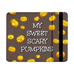 Scary Sweet Funny Cute Pumpkins Hallowen Ecard Samsung Galaxy Tab Pro 8 4  Flip Case by Amaryn4rt