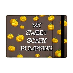 Scary Sweet Funny Cute Pumpkins Hallowen Ecard Ipad Mini 2 Flip Cases by Amaryn4rt