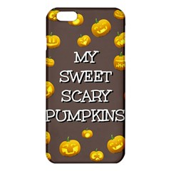 Scary Sweet Funny Cute Pumpkins Hallowen Ecard Iphone 6 Plus/6s Plus Tpu Case by Amaryn4rt