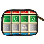 Set Of The Twelve Signs Of The Zodiac Astrology Birth Symbols Digital Camera Cases Back