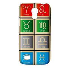 Set Of The Twelve Signs Of The Zodiac Astrology Birth Symbols Galaxy S4 Mini by Amaryn4rt