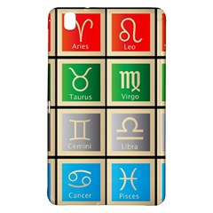 Set Of The Twelve Signs Of The Zodiac Astrology Birth Symbols Samsung Galaxy Tab Pro 8 4 Hardshell Case by Amaryn4rt