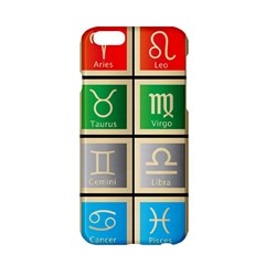 Set Of The Twelve Signs Of The Zodiac Astrology Birth Symbols Apple Iphone 6/6s Hardshell Case by Amaryn4rt