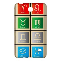 Set Of The Twelve Signs Of The Zodiac Astrology Birth Symbols Samsung Galaxy Tab 4 (8 ) Hardshell Case  by Amaryn4rt