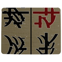 Xia Script On Gray Background Jigsaw Puzzle Photo Stand (rectangular)